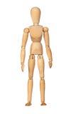 Mannequin de madeira articulado foto de stock