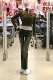 Mannequin devant la mémoire de mode Images libres de droits