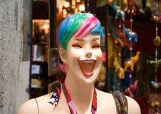 Mannequin di risata Fotografie Stock