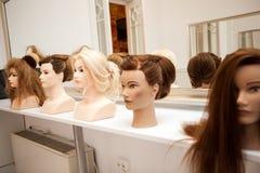 Mannequin différent avec différentes coiffures Photographie stock