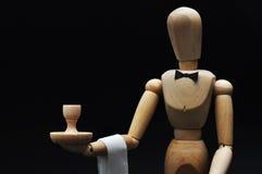 Mannequin do empregado de mesa fotos de stock