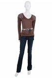 Mannequin dressed in female clothing Royalty Free Stock Photo