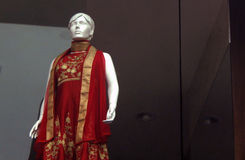 Mannequin dressed in latest Indian fashion Royalty Free Stock Photo