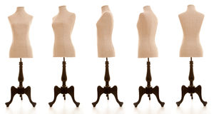 Mannequin dummy ,. Mannequin or dressmakers dummy taken from different angles royalty free stock photography