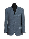 Mannequin in Elegant Gray Business Suit Royalty Free Stock Photography