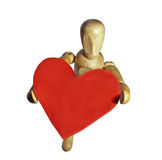 Mannequin en bois Photo stock