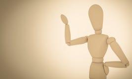 Mannequin en bois Images stock