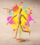 Mannequin en bois Images libres de droits