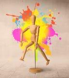 Mannequin en bois Image libre de droits