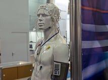 Mannequin et sondes médicales Images libres de droits