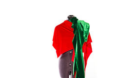 Mannequin with fabric Stock Images