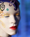 Mannequin face Royalty Free Stock Photography