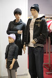 Mannequin Family Stock Images