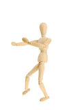 Mannequin in fighting pose Royalty Free Stock Photo