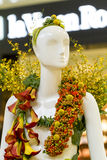 Mannequin floral Photo stock