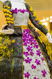 Mannequin floral Image stock
