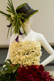 Mannequin floral Image libre de droits