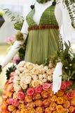 Mannequin floral Photographie stock
