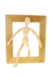 Mannequin frame Stock Image