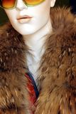 Mannequin in fur Royalty Free Stock Photo