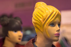 Mannequin głowa odizolowywająca Obraz Royalty Free
