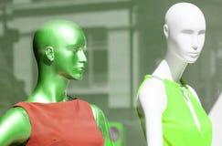 Mannequin głowy fotografia stock