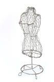 Mannequin gebildet vom Draht Stockbild