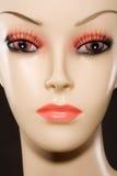 Mannequin-Gesicht Lizenzfreie Stockfotos