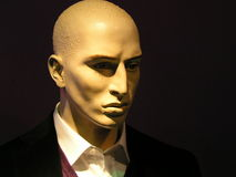 Mannequin grumpy Royalty Free Stock Photography