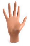Mannequin hand isolated Royalty Free Stock Image