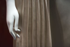 Mannequin hand Stock Image