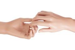 Mannequin Hands Stock Photo