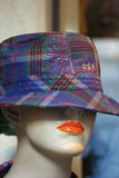 Mannequin with hat Royalty Free Stock Image