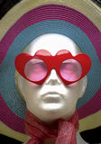 Mannequin with hat Royalty Free Stock Images