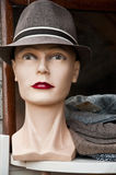 Mannequin with hat Stock Images