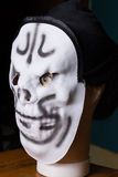 Mannequin head ghost mask. To fear Stock Image