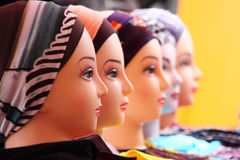 Mannequin Heads Royalty Free Stock Photography