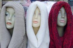 Mannequin Heads royalty-vrije stock foto