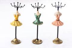 Mannequin hoders for jewelry Royalty Free Stock Images