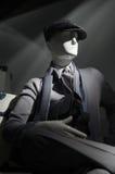 Mannequin im Grau (vertikal) Stockfoto