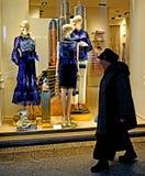 Mannequin im Rosa Stockbild