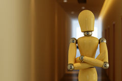 Free Mannequin In Hallway Royalty Free Stock Image - 16131526