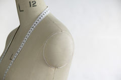 Mannequin indoors close up side view Royalty Free Stock Photography