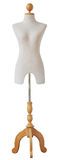 Mannequin isolated with clipping path. A mannequin on white background, clipping path Royalty Free Stock Image