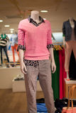 Fashion Mannequin. Mannequin in luxury fashion retail shopping store Stock Photos