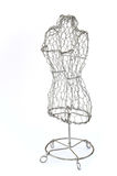 Mannequin made of wire Stock Image