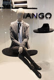 Mannequin in Mango store Royalty Free Stock Photography