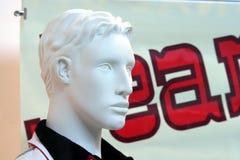 Mannequin masculino fotografia de stock
