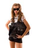 Mannequin met grote zak. Royalty-vrije Stock Foto's