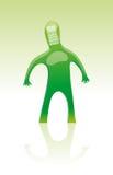Mannequin mit Barcode Lizenzfreies Stockfoto